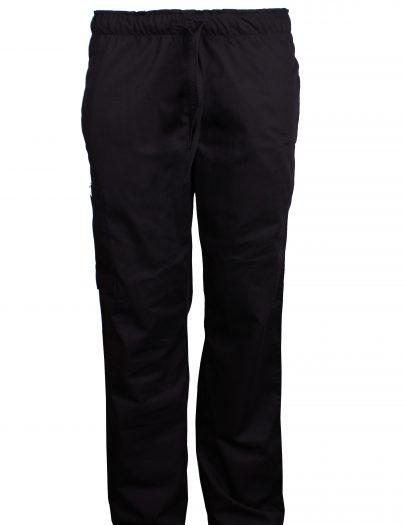Pantalon Hombre Negro Frente