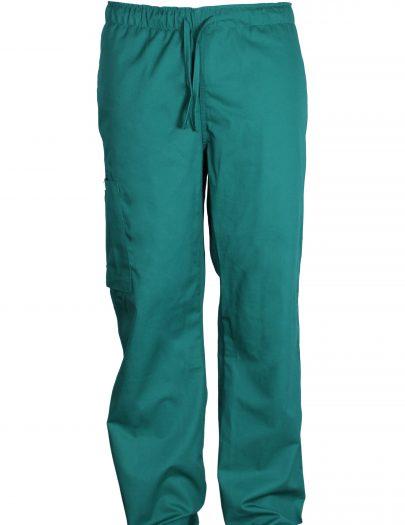 Pantalon Hombre Verde Frente